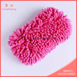 Polyester Microfiber Car Wash Chenille Sponge pictures & photos