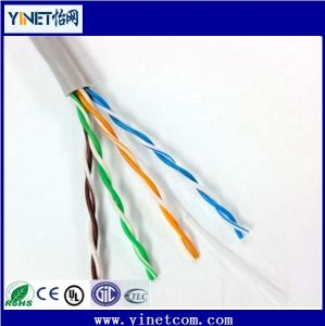 1000FT Copper UTP Cat5e 24AWG 4pr LAN Ethernet Bulk Cable pictures & photos