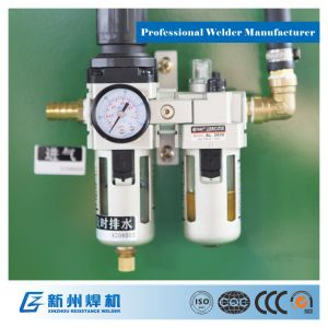 Pneumatic and Adjustable Type Spot Welding Machine to The Weld The Metal Plate pictures & photos