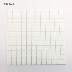 White Bathroom Backsplash Supplies Glass Mosaic Tiles pictures & photos