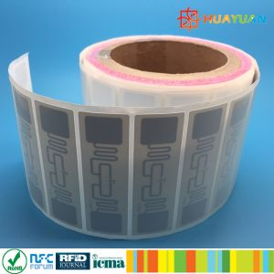 TID printing Alien Higgs3 ALN9640 inlay adhesive UHF RFID label pictures & photos