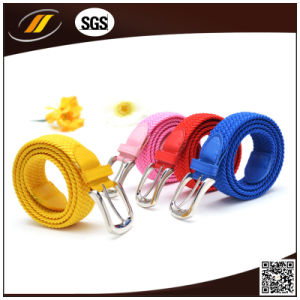 Hot Sale Fashion Colorful Braided Elastic Belts (HJ5112)