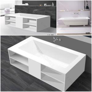 Simple a⪞ Ryli⪞ Stone Whirlpool Corner Bathtub pictures & photos