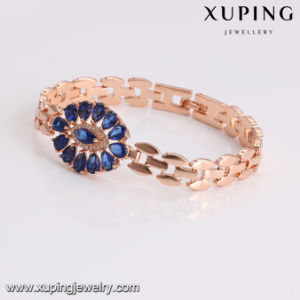 74827 Fashion Latest Jewelry Women Luxury Big Eye Tear Zircon Bracelet pictures & photos
