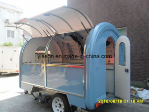 Window Customize Food Cart Trailers for Australia Sale pictures & photos