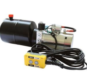 Small/Mini DC 12V Hydraulic Power Pack Unit for Farm Tractor Made in China pictures & photos