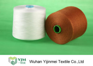 OEM High Quanlity Colorful Spun Polyester Yarn with 20-60s Specifications pictures & photos