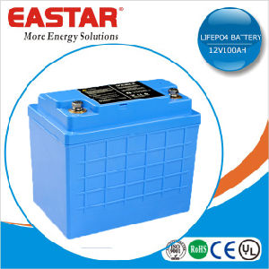 Rechargeable LiFePO4 Battery 12V 100ah Lithium Battery Pack pictures & photos