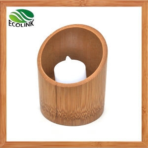 Bamboo Candle Holder Tealight Holder pictures & photos