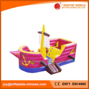 Pink Inflatable Jumping Ship Princess Jumping Boat Bouncer (T6-608) pictures & photos