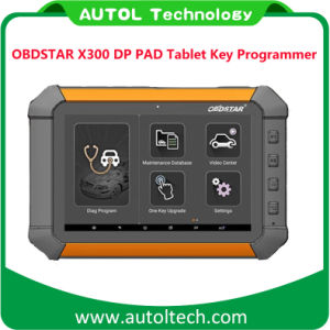 Obdstar X300 Dp Pad Tablet Auto Key Programmer Odometer Adjustment Full Configuration Dp Pad X300 Key Programmer pictures & photos