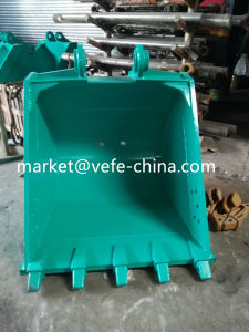 Excavator Bucket Assembly (SK120-3 standard bucket with 5 tooth) pictures & photos