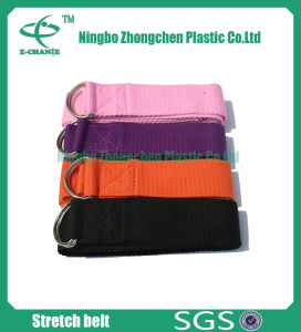 Fabric Density 100% Cotton Organic Yoga Strap pictures & photos