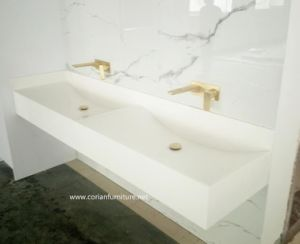 2016 New Design Pure Acrylic Solid Surface Washing Basin pictures & photos