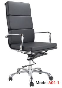 Office Swivel Leather Leisure High Back Manager Chair (A04-1) pictures & photos