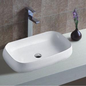 Modern Design Ceramic Art Counter Top Thin Edge Basin pictures & photos