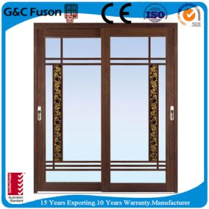 Free Sample New Design Aluminium Frame Sliding Glass Window pictures & photos