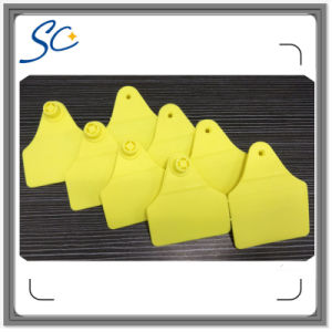 74*57mm Animal Tracking Identification Ear Tags for Cattle pictures & photos