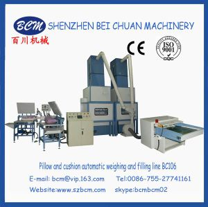 Hot Sale Fiber Opening & Precisely Accuracy Pillow Filling Line pictures & photos