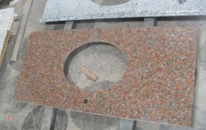 (G562) Maple Red Granite Basin Granite Countertops pictures & photos