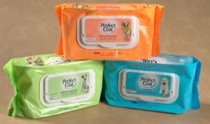 Unscent Pet Wipe From Private Label Manufacturer pictures & photos