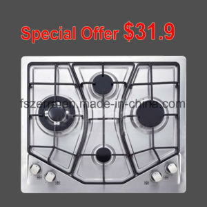 Stainless Steel Auto Ignition Gas Hob Gas Stove S4507 pictures & photos