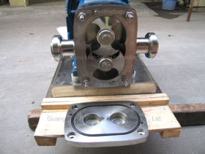 High Quality Sanitary Stainless Steel Rotary Lobe Pump for Chocolate pictures & photos