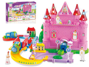 Kids Electric Toy Dream Castle B/O Railway Train (H5697087) pictures & photos