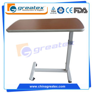 Gas Spring Riging Hospital Overbed Table (OT002)