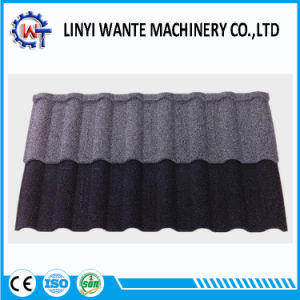 Water Resistance Building Material Stone Coated Metal Milano Roof Tile pictures & photos