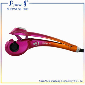 Automatic Magic LCD Ceramic Hair Curler