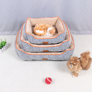 Good Quality Indoor Pet Dog Cat Cushion Bed pictures & photos