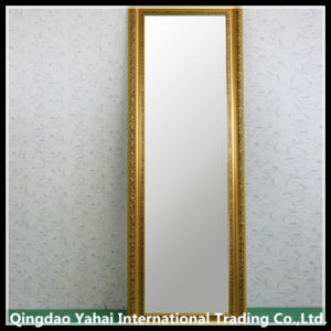 New Design Wooden Frame Make-up Silver Mirror pictures & photos