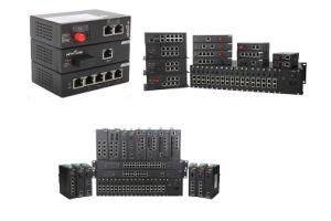 1 Megabit Tx & Fx Port Industrial Ethernet Network Switch pictures & photos