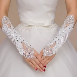 Aoliweiya Wedding Accessories Long Bridal Glove pictures & photos