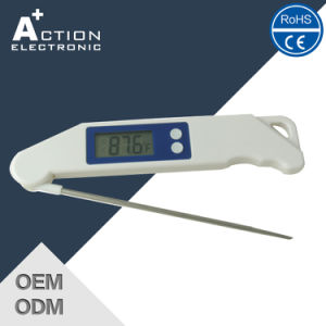 Foldable Food Instant Read Meat BBQ Digital Kitchen Thermometer pictures & photos