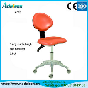 Ce Approved Portable Dentist Stool of Dental Unit