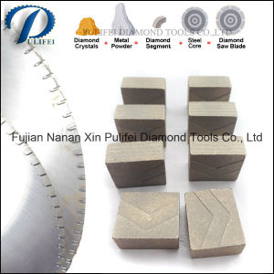 Diamond Material Tools Stone Cutting Segment for Circular Blade pictures & photos