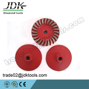 "D100*5/8"" Diamond Grinding Cup Wheel for Stone Abrasive and Polishing pictures & photos"