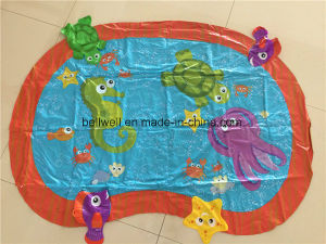 Outdoor Children Inflatable Water Spray Toy Mat pictures & photos