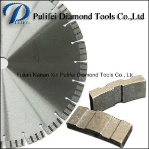 China Turbo Segment Diamond Cutting Blade Sharp Cutting Granite Quartz
