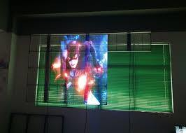 P10 Transparent LED Screen for The Window Advertisement pictures & photos