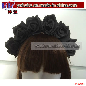 Party Costumes Rose Flowers Headwear Hair Products (W2046) pictures & photos