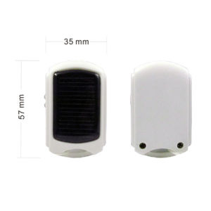 Mini Solar Charger 950mAh Power Bank with LED Lights pictures & photos
