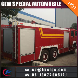 Hot Sales HOWO 6X4 12t 16t Waer Foam Fire Fighting Vehicle Fire Engine pictures & photos
