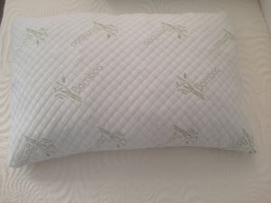 Cheap Shredded Foam Pillow with Bamboo Cover for Hotel Use pictures & photos