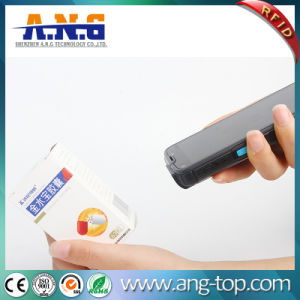 Wireless Handheld RFID Reader with Barcode Scanner pictures & photos