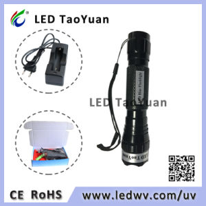 LED Flashlight UV 365nm Torch Light 3W pictures & photos
