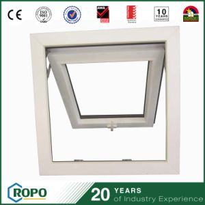 PVC Soundproof Top Hung Windows Open Swing Outside pictures & photos
