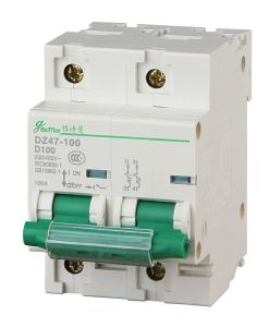 Miniature Circuit Breaker 4p Dz47-100h pictures & photos